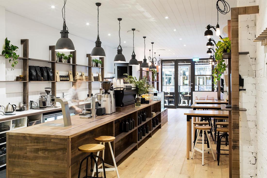 thiết kế quan cafe đẹp