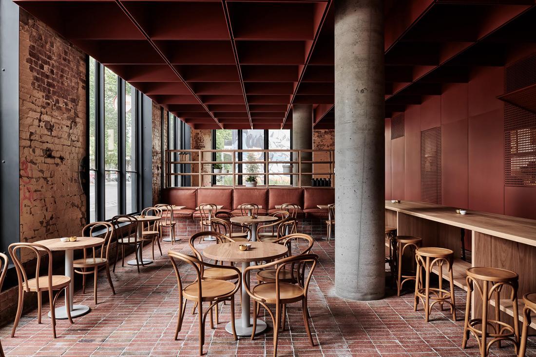 Thiết kế quán cafe theo yêu cầu